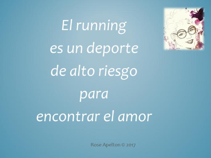 Running deporte alto riesgo amor